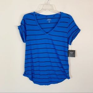 Polo Ralph Lauren • Rolled Sleeve Striped Tee